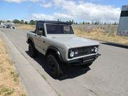 1973 Ford Bronco HALF CAB